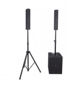 location système son Proel Session 6 - vue de face avec 2 configurations - Xl Sono