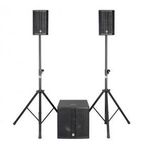 Location système son HK Audio - Lucas 2K15 - vue de face - Xl Sono