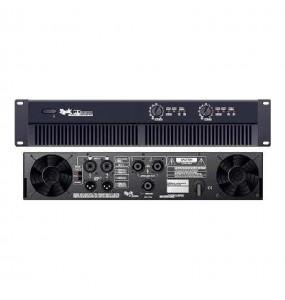 Location amplificateur Zeck PT-7 - vue de face et derrière - Xl Sono