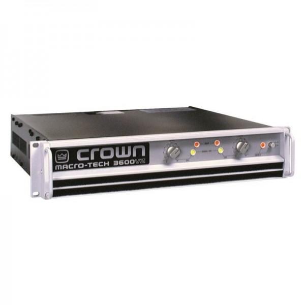 Location amplificateur CROWN MT3600 - vue de face - Xl Sono