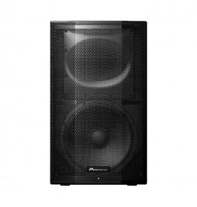 Location paire d'enceintes amplifiées Pioneer XPRS12 - vue de face - Xl Sono