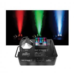 Location geyser RGB Chauvet - vue démonstration - Xl Sono