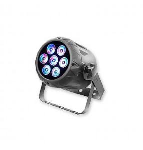 Location pack de 12 PAR à LEDs Starway Minikolor - vue de coté - Xl Sono