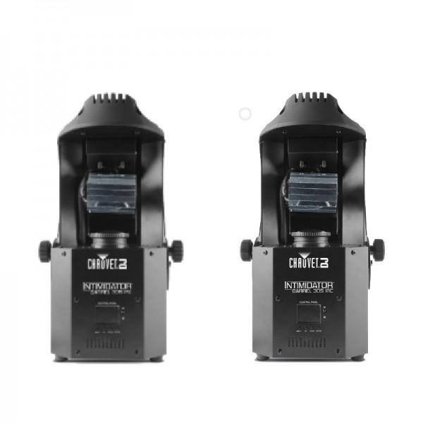 Location pack 2 scanners Chauvet Intimidator barrel 305 IRC - vue de face double - Xl Sono