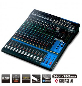 Location table de mixage  Yamaha - MG16XU - Vue intégrale - Xl Sono
