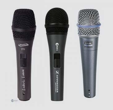 Location microphone filaire - Xl Sono