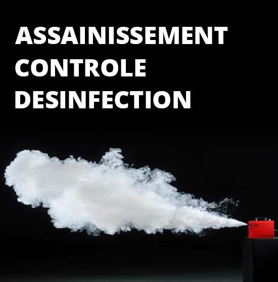assainissement, désinfection et controle